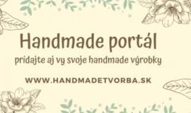 Predám 2. najväčší handmade portál – www.handmadetvorba.sk