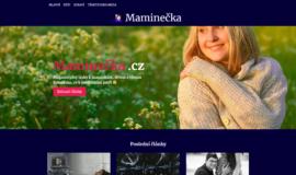 Prodej webu Maminecka.cz