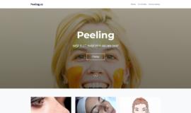 Prodej webu peeling.cz